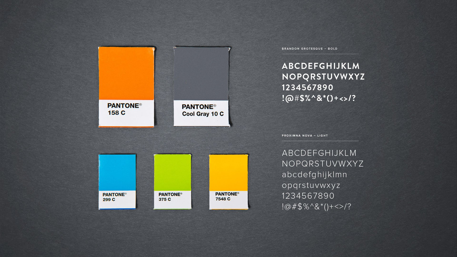 angus glen branding colours