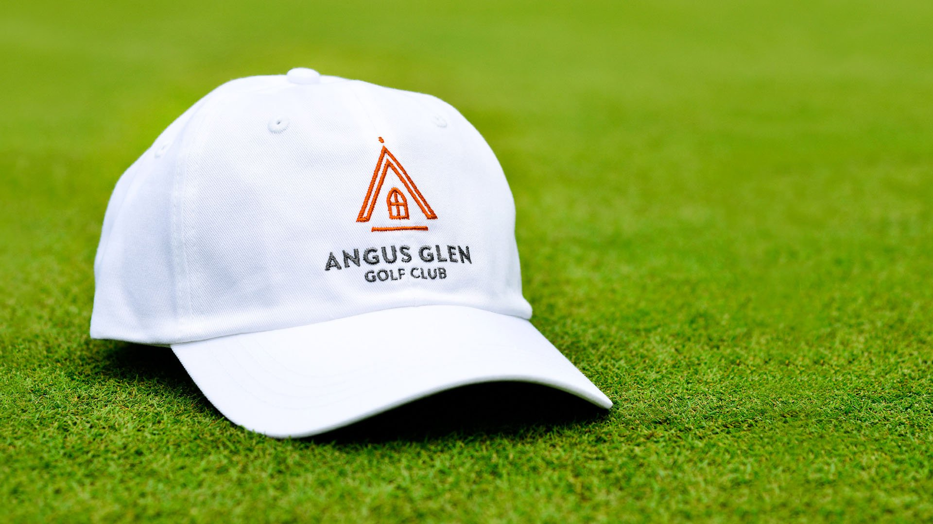 angus glen golf hat