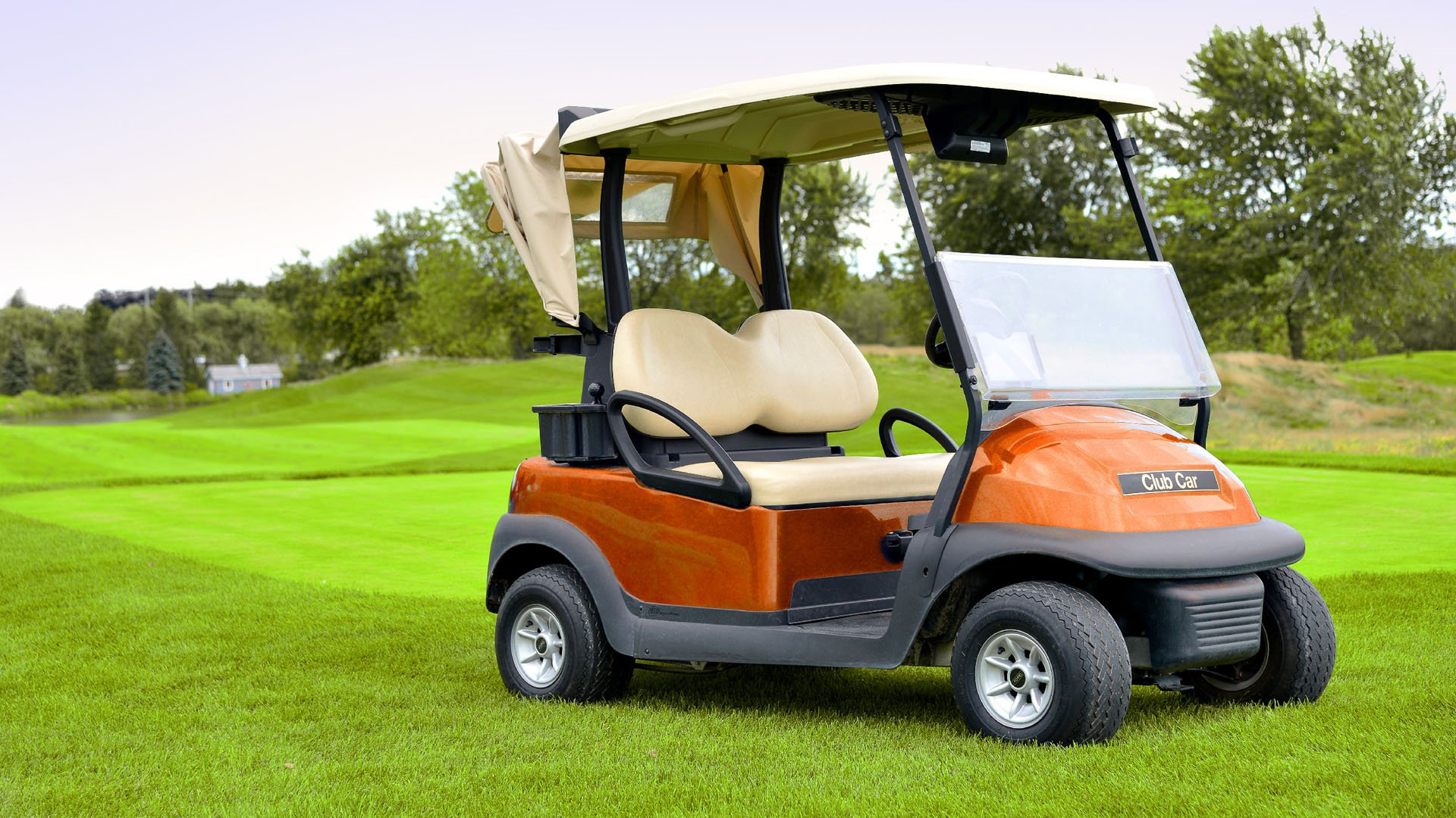 angus glen golf course golfcart