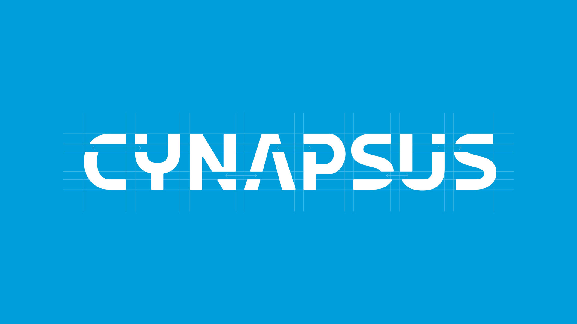 cynapsus logo on blue background
