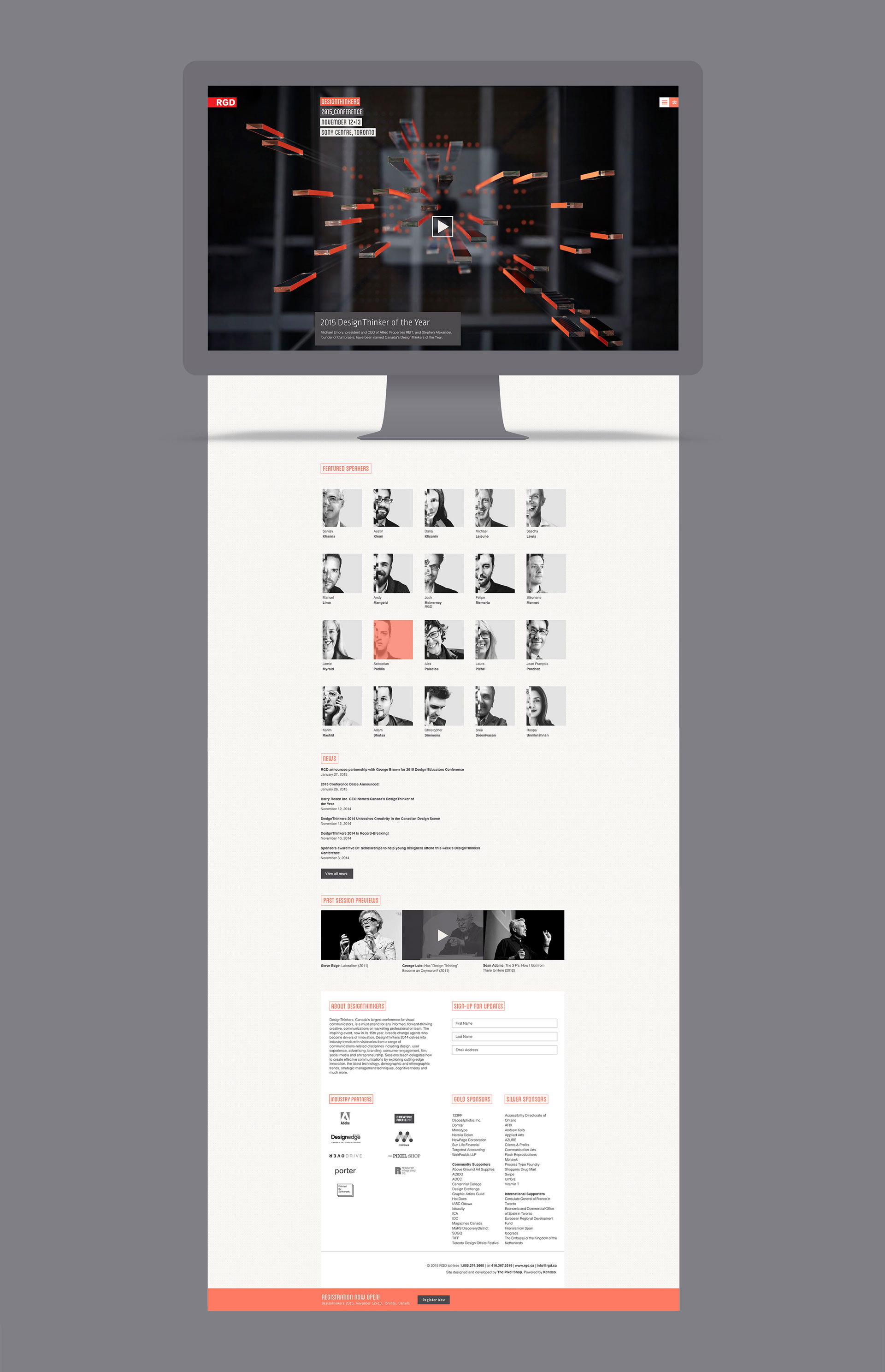 design thinkers website