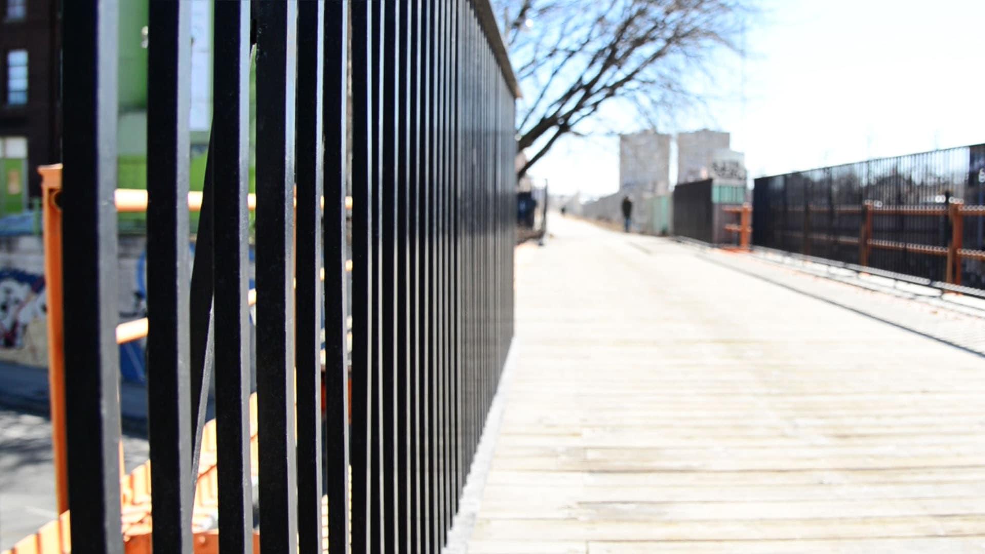 Railpath walkway in the Junction, Toronto